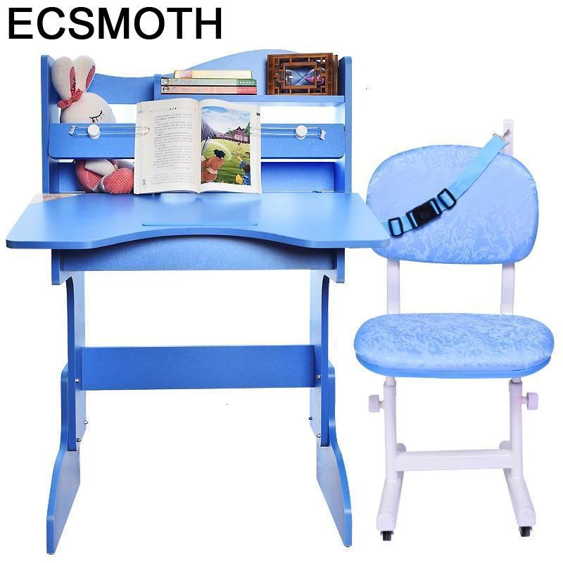 Kindertisch De Estudio Baby Chair And Toddler Pour Avec Chaise Adjustable Mesa Infantil Bureau Enfant Study Table For Kids