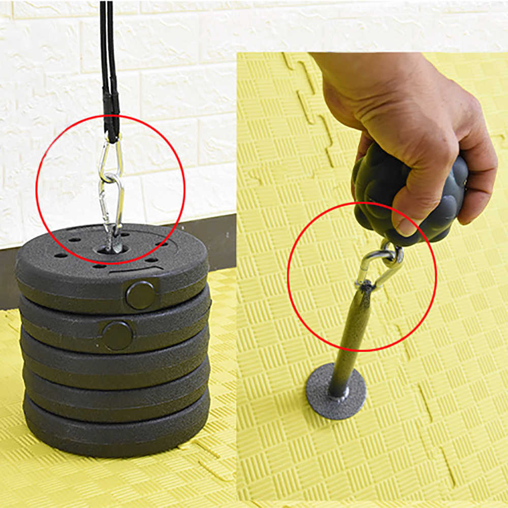 Albreda Gewichtheffen Halter Halter Beugel Halterhouders Fitness Grip Bal Halter Houder Arm Oefening Accessoires