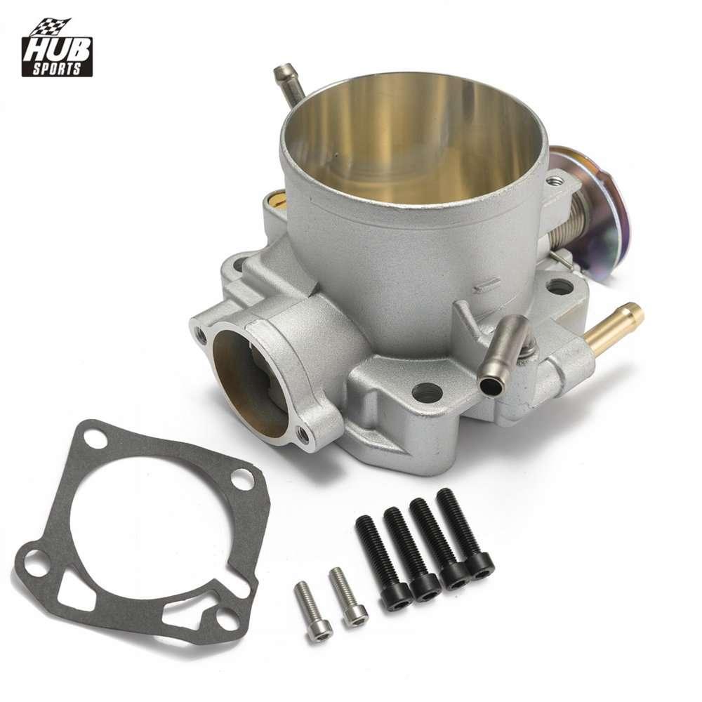 Racing Aluminium Throttle Body 70mm For Honda//B18C//B16B//B16A//Civic//Acura Integra