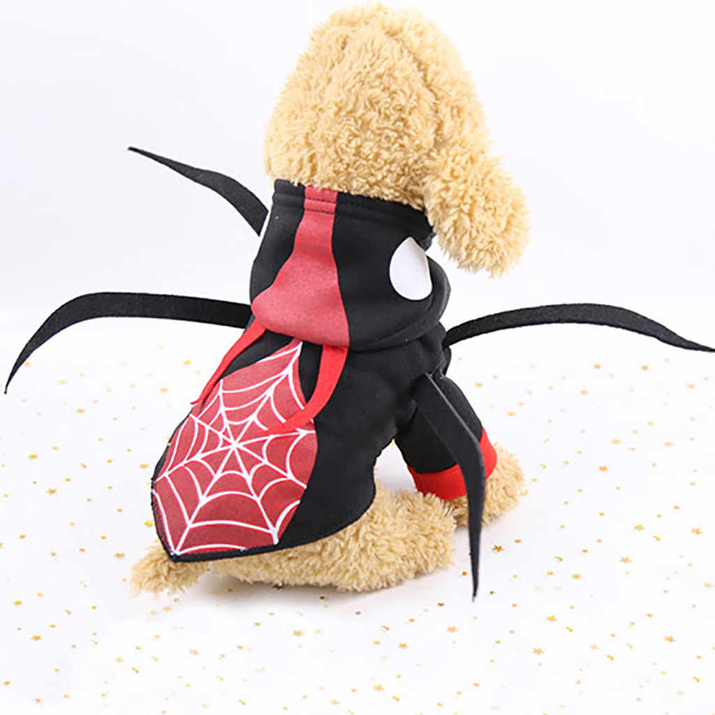 Halloween New Spider Beetle Transformed Dog Clothes Pet Coat Pets Clothes Costume Apparel Pets Dogs Clothing Chihuahua New #R5