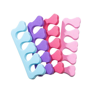 Image 5 - 20pc = 10 זוג 2019 מקצועי נייל אמנות הבהונות פופולרי אצבעות מפרידי רגליות רך ספוג יופי כלים חוצצים מניקור פדיקור