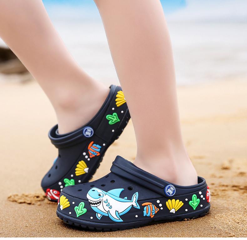 2017 New fashion children garden shoes children cartoon sandal babies summer slippers high quality kids garden children sandals (17)