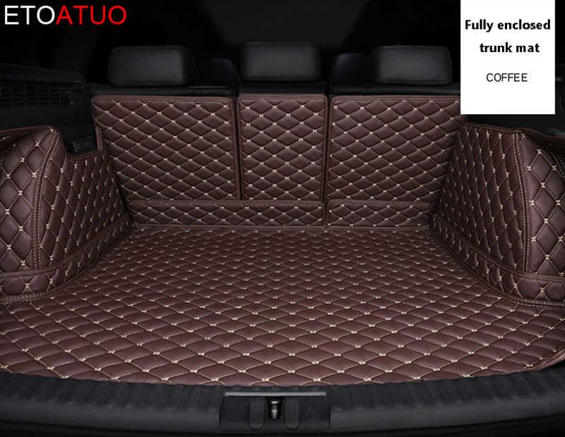 カスタム車のトランクマットカーライナープジョーすべてのモデル 3008 206 307 207 2008 408 308 508 301 4008 RCZ 301 sw スタイリング accessorie