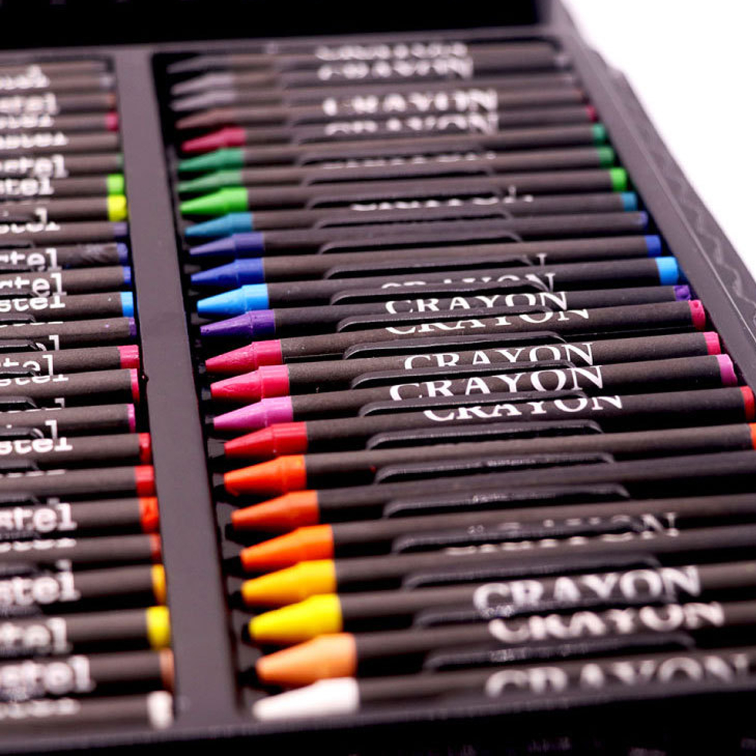 168PCS Painting Drawing Art Artist Set Kit Water Color Pen Crayon Oil Pastel Painting Tool Supplies Kids Stationery Gift Set 5
