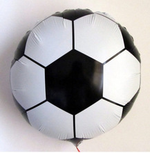 Factory direct sale decorate the football World Cup bar KTV balloon modelling aluminum film foil balloons