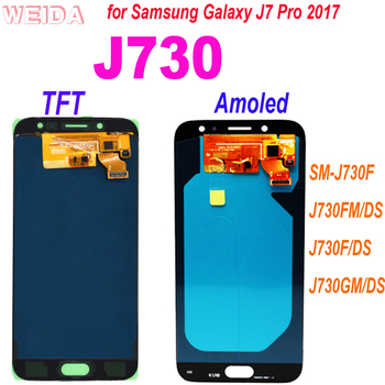 AAA+ 5.5 for Samsung Galaxy J7 Pro 2017 J730 SM-J730F J730FM/DS J730F/DS J730GM/DS LCD Display Touch Screen Digitizer Assembly image