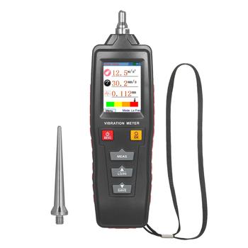 Cyfrowy miernik wibracji Vibrometer Vibroscope przenośny ręczny miernik drgań Tester drgań tanie i dobre opinie meterk CN (pochodzenie)