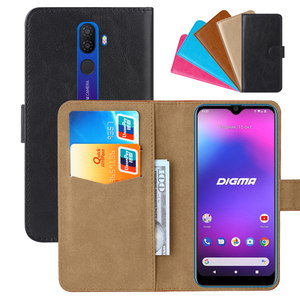 Luxury Wallet Case For Digma CITI 609 PU Leather Retro Flip Cover Magnetic Fashion Cases Strap(China)