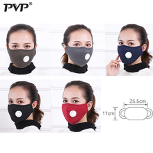 PVP Anti Pollution Mask Dust Respirator Washable Reusable Masks Cotton Unisex Mouth Muffle for Allergy/Asthma/Travel/ Cycling