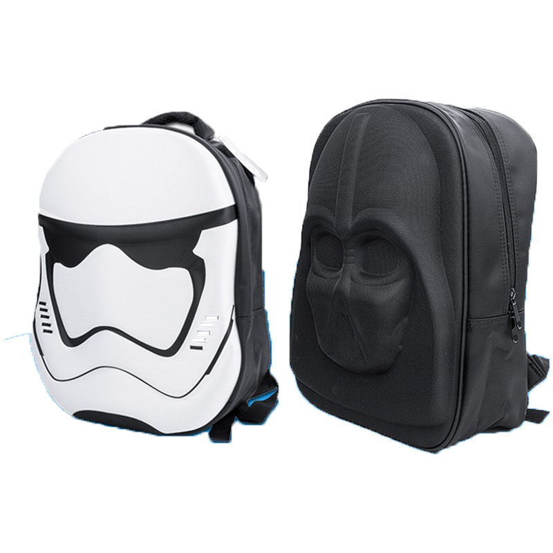 Cosplay Backpack Movie Star Wars Cosplay Props Imperial Stormtrooper Darth Vader Cos School Bag Star Wars Backpack