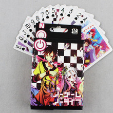 цены на Anime NO GAME NO LIFE Poker Cards Cosplay Board Game Cards With Box Free Shipping  в интернет-магазинах