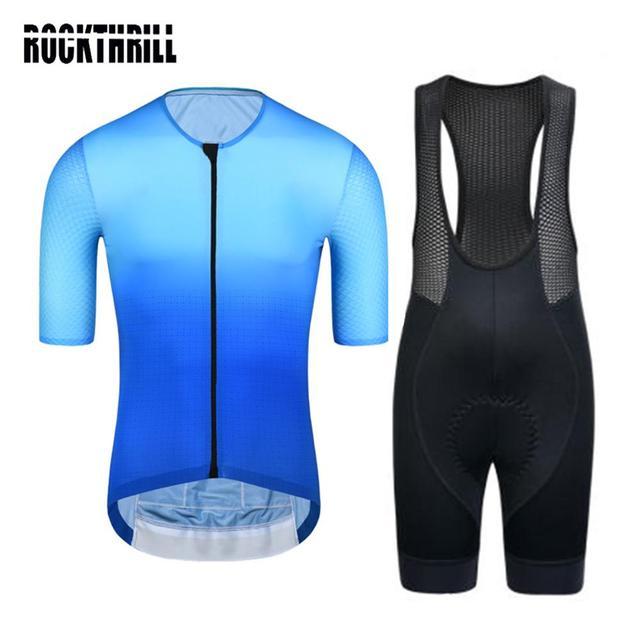 Conjunto de roupas para ciclismo pro team, kit de roupas curtas de ciclismo com almofada em gel de alta densidade para mtb e road ternos verão 2020 4