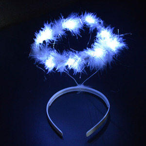Light Angel Halo LED Headband Hair Accessories Birthday Glow Party Supplies Wedding Decoration Carnival Festival Baby Shower(China)