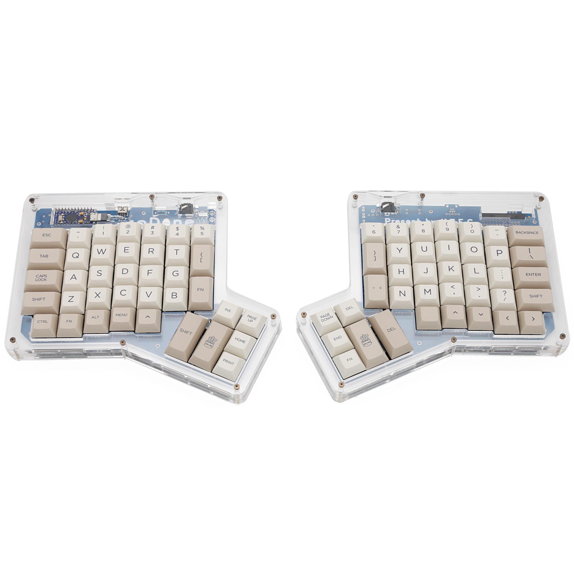 Teclas do Teclado Ergodox Ergo Substituiu Keycaps Teclados Mecânicos Personalizado Infinito Ergonômico Bege Claro Cinza Dsa Pbt Dye