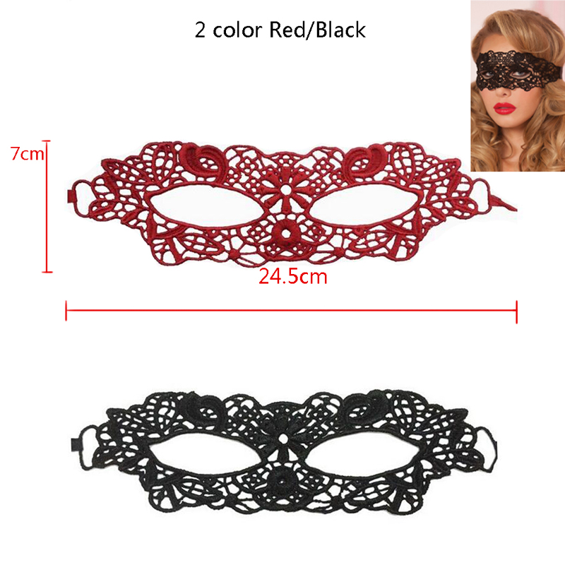 Hollow Lace Mask Erotic Costume 8