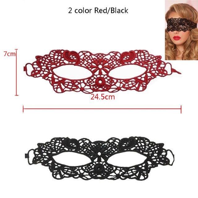 Sexy Babydoll bielizna porno Sexy czarny/biały/czerwony Hollow koronkowa maska erotyczne kostiumy kobiety seksowna bielizna gorące maski na przyjęcie kostiumowe