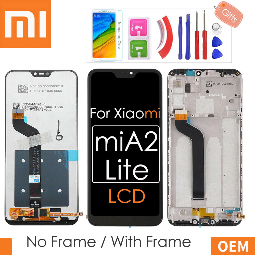 Xiaomi Lcd--Frame Lcd-Display Lite Original Digitizer-Assembly Touch-Screen For A2 2280--1080