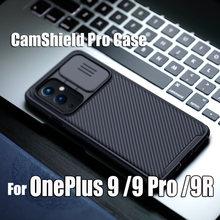 Pour OnePlus 9 Case NILLKIN Protéger L'appareil Photo Confidentialité Camshield Pro Coques De Téléphone Pour OnePlus 9 Pro 9R LENTILLE Housse De Protection Arrière