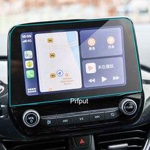 Для Ford Fiesta 2018 2019 2020 8 дюймов Автомобильный GPS навигатор Экран против царапин закаленная пленка защитная наклейка