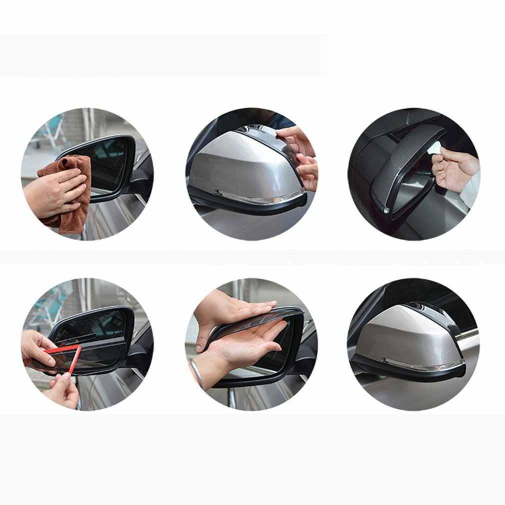 Automotive Auto Rückspiegel Regen Schutz Spiegel Regen Augenbraue Rückspiegel Visier Schatten