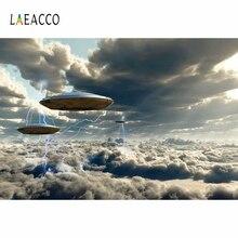 Laeacco خلفيات للتصوير الفوتوغرافي على شكل UFO ، فينيل ، غير ملحومة ، للتصوير الفوتوغرافي ، لالتقاط الصور