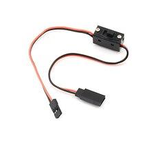 1 шт* Управление приемник Мощность переключатель RC приемник Батарея на включение/выключение с квадрокоптера RC JR привести разъемы