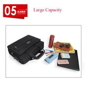"""Image 5 - 2020 yeni iş erkek evrak çantası yüksek kapasiteli erkek tek omuz çantaları 14 """"15"""" 16 """"Laptop çantası kadın iş dosyaları ofis paketi"""