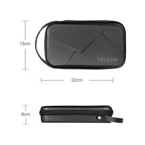 Image 2 - TELESIN Lagerung Tasche Wasserdichte EVA Fall DIY Lagerung Box für DJI OSMO Action OSMO Tasche GoPro Hero 8/7/6/5 Action Kamera
