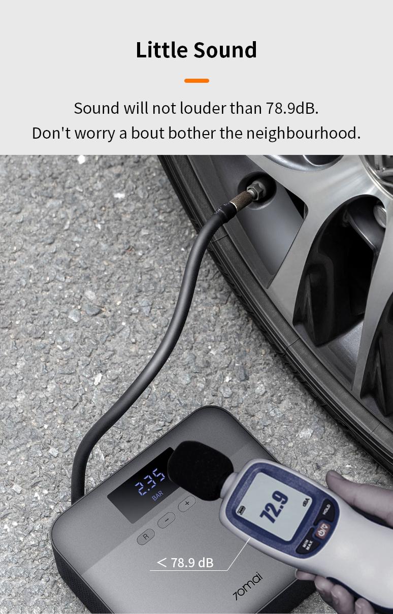 70Mai car%tire air pump lite