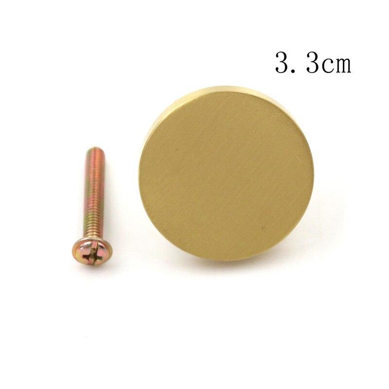 25 мм внутренняя дверная ручка входа с ключом/ящик/Шкаф Потяните ручки замок конфиденциальности - Цвет: Gold