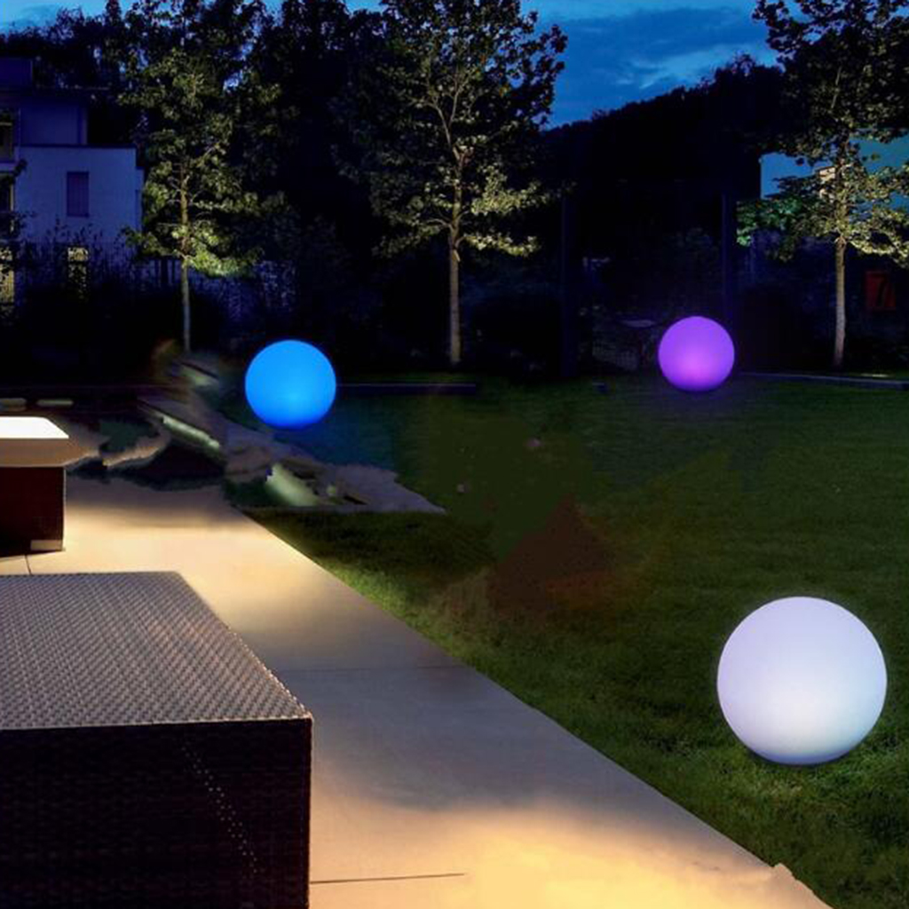 Inflatable Glowing LED Swimming Pool Beach Balls for Swimming Pool Home Garden Decoration Pools Accessories
