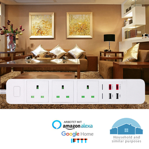 Image 5 - WiFi Smart Power Strip Presa di Estensione con USB Tipo c di Protezione Contro Le Sovratensioni Spina Intelligente A Distanza per Alexa Google casa