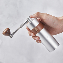 Portable Mini Manual  Coffee Grinder Aluminum body CNC 304stainless steel  burr  Adjustable Coffee Mill15 20g capacity