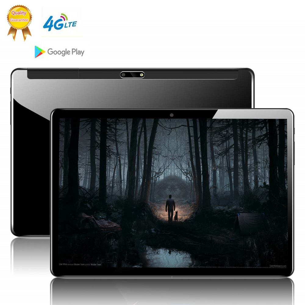 128GB Rom Tablette Tactile Android 3G Android 9.0 Octa Core Tablets Ram 8GB WiFi Usb GPS Bluetooth 10 Inch Tablet IPS Dual SIM