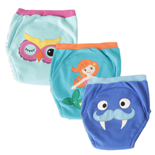 4 Layers Baby Training Pants Infant Kids Underwear Animal Pattern Adorable Potty for Boys Girls 12M-4T