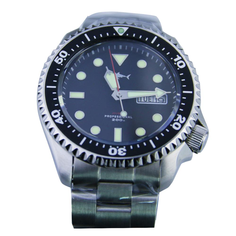 Sharkey NH36Movement Mens SKX007 Automatic Vintage Dive Diver Watch