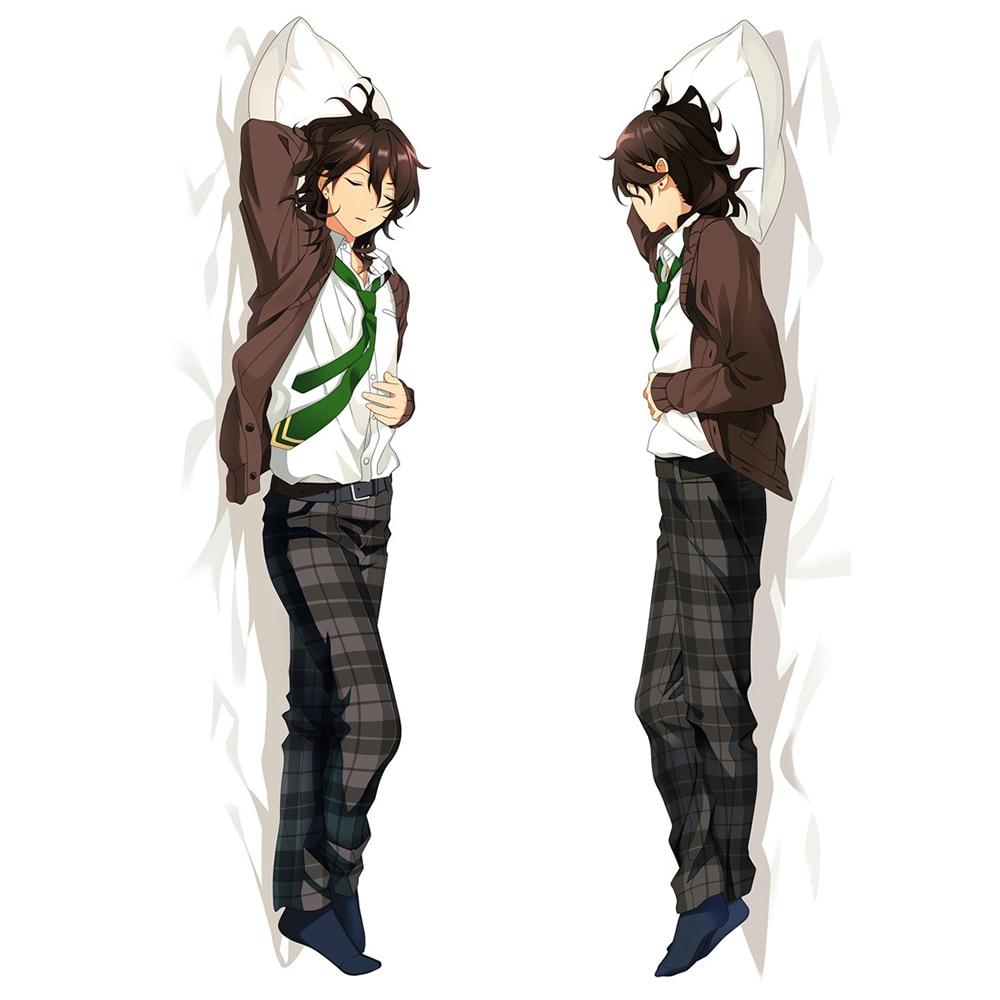 Anime Game Ensemble Stars Hidaka Hokuto Dakimakura Hugging Body Pillow Case Isara Mao Male Home Bedding