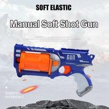 Nerf – pistolet jouet électrique pour enfants, fléchettes de recharge, tête souple, balles en mousse, ventouse sûre, jouets pour enfants