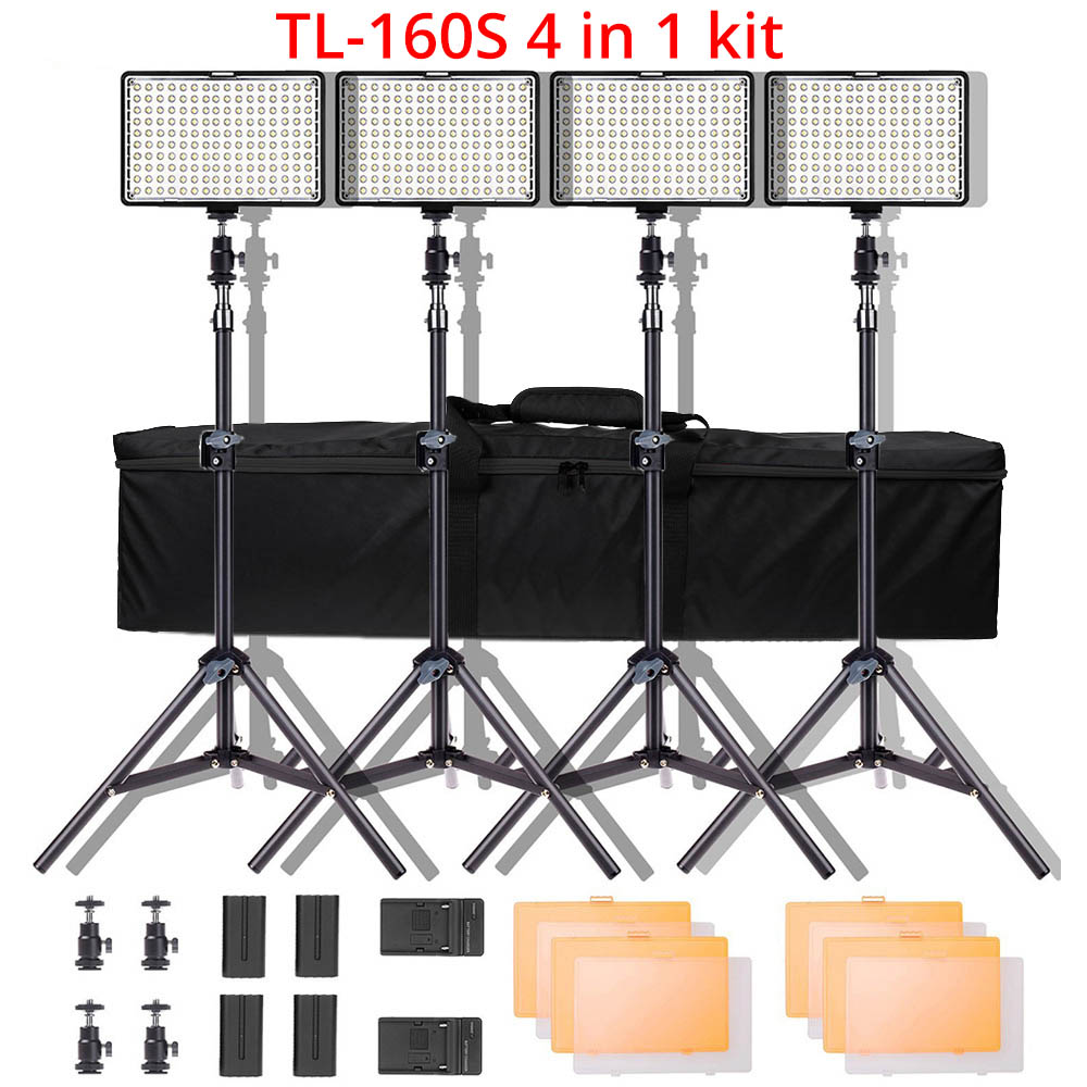 Ring Light LED Video Light Lamp with Tripod Stand 7