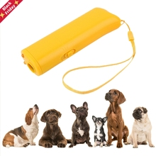 Pet-Trainer Dogtraining-Device Lighting Dog-Repeller Ultrasonic Anti-Barking with Dp/wholesales