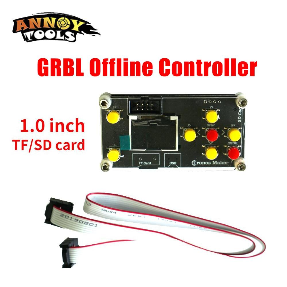 GRBL Offline Controller Laser/CNC Engraving Machine  for CNC 3018pro DIY Laser Engraver 128MB TF Card 3 Axis GRBL Offline
