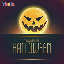 Yeele Halloween Photocall Moon Pumpkin Ghost Trick Photography Backdrops Personalized Photographic Background For Photo Studio