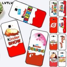 LVTLV Neue Trolly ei KINDER FREUDE Überraschung Telefon Fall für Samsung J6 J7 J2 J5 prime J4 J7 J8 2016 2017 2018 DUO core neo