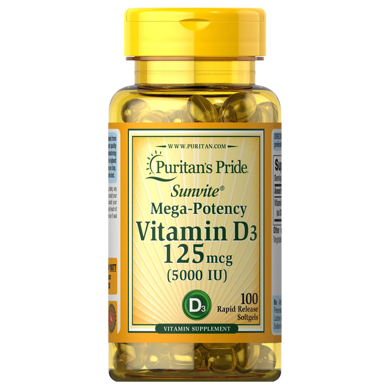 Pride Vitamin D3 1000 IU 100 Healthy Bone Teeth Essential Nutrient Aids In Calcium Absorption Maintain A Healthy Immune System