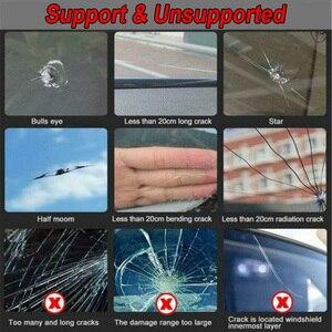Image 5 - Auto Voorruit Voorruit Glas Reparatie Hars Set Kit Auto Voertuig Gebroken Raam Fix Repair Tool Accessoires