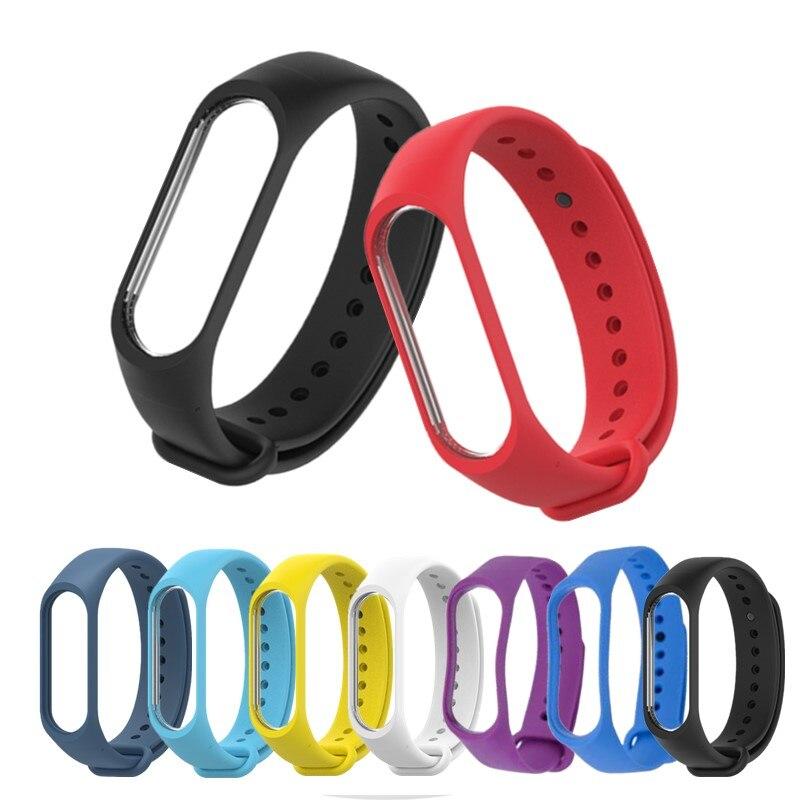 2020 New Spotr Silicone Wrist Strap For Xiaomi MI Band 4 3 Bracelet Watch Straps For Xiaomi Mi Band 3 4 Smart Watch Accessories