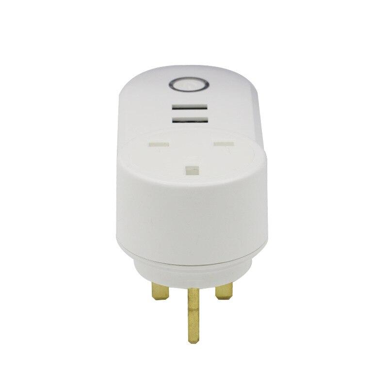 lowest price Tuya USB Wifi Smart Plug EU UK US Israel BR AU Swit FR ITA Za Wireless Power Wifi Remote Control Timer charger Alexa Google Home