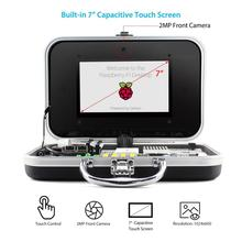 Elecrow Crowpi Basic Kit Mini Computer Design Monitor 7 inch HD Touch Screen Compact Raspberry Pi DIY Educational Learning