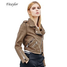 Fitaylor Motorcycle Punk Leather