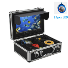 9 30M Underwater Fishing Camera Fish Finder 24pcs Infrared and White LED Battery Control Box Video